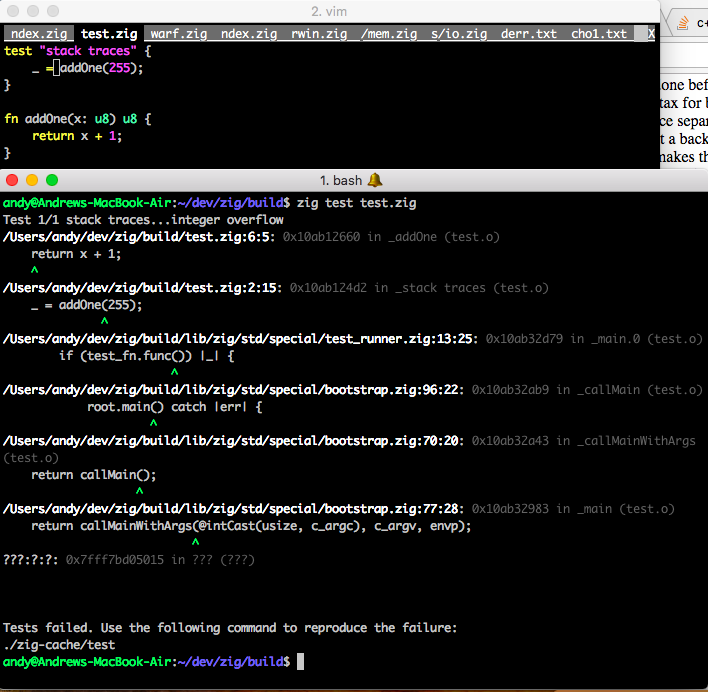 The Zig Programming Language